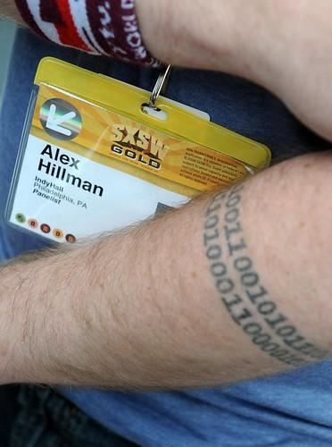 Binary Tattoo. Documentally. England