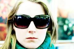 Sunglasses (torjefanebust) Tags: portrait girl sunglasses jente portrett solbriller colourfull pentaxk20d