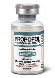 medicamento medicina Propofol