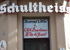 Alt-Berliner Wirtshaus (piktorio) Tags: street berlin sign writing kreuzberg germany typography restaurant offshore letters oldgerman stterlin kurrent