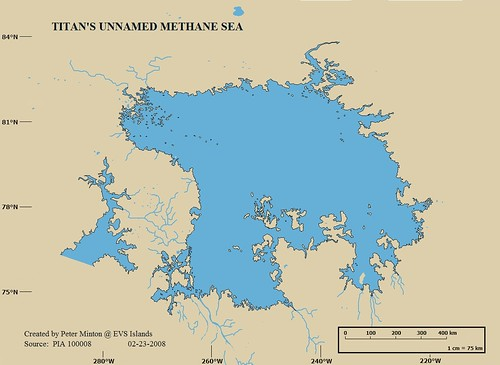 Titan's Unnamed Methane Sea