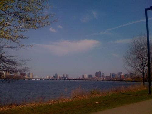 Boston Skyline from BU