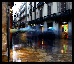 Wet streets of Barcelona 2_new edit
