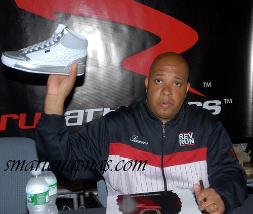 rev run new sneakers