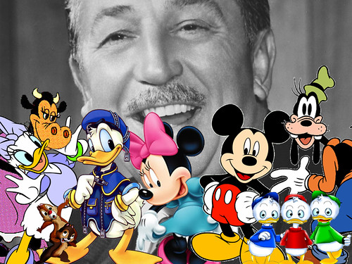 Walter Elias Disney and his friends | Flickr - Photo Sharing!