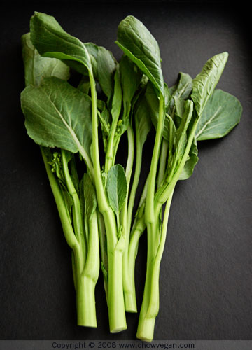 Stir-Fried Yu Choy Sum