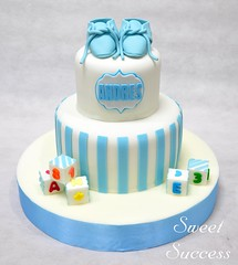 Baptismal Cake (sweetsuccess888) Tags: sweetsuccess cake babycake baptismalcake baptism babybooties babyblocks philippines