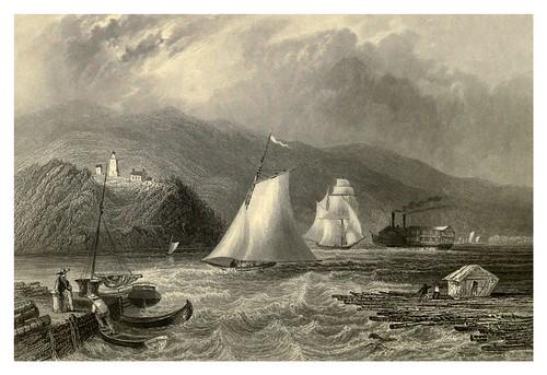 013-Faro cerca de Caldwel rio Hudson 1840