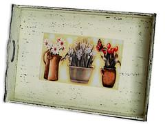 Bandeja - pátina provençal (Minhas Crias) Tags: artesanato mdf decoupage trabalhosmanuais pátinaprovençal vernizmarítimo
