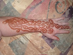 Phoenix Head - Paste Off (Ron - Red Moon Henna and Body Art) Tags: red moon henna mehndi muddyshoes