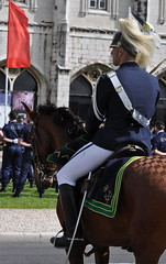 Celebración 100 años - Celebraçao cem anos G.N.R. - Guarda Nacional Republicana (Oscar in the middle) Tags: portugal guard guards portuguese guardia gendarmerie