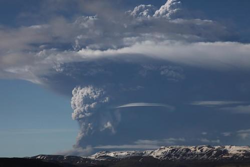 フリー写真素材, 社会・環境, 災害, 火山, 噴火, グリームスヴォトン, アイスランド,