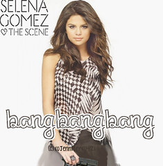 Selena Gomez Bang Bang Bang - Single Cover