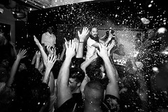 Champagne Showers (Marc Ressang) Tags: party club shanghai steve hong kong nightlife aoki