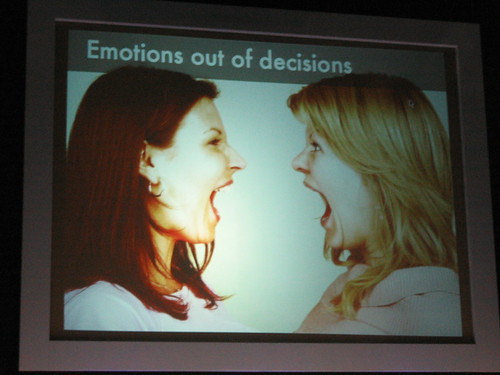 Emotions out of Decisions