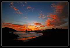 Cronica de una muerte... (Popewan) Tags: sunset beach atardecer playa mazarron blueribbonwinner abigfave brillianteyejewel