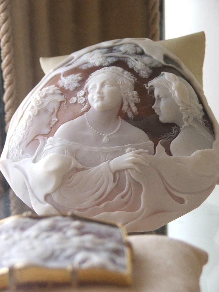 Фото из музеев и мастерских Неаполя и Помпей