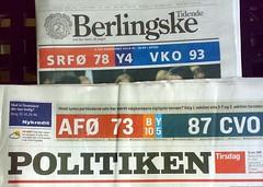 Election Day (malouette) Tags: denmark newspapers danmark poll valg aviser folketingsvalg valg07