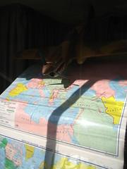 the first world war (rick) Tags: sanfrancisco plane airplane map foundinsf 2007 gwsf