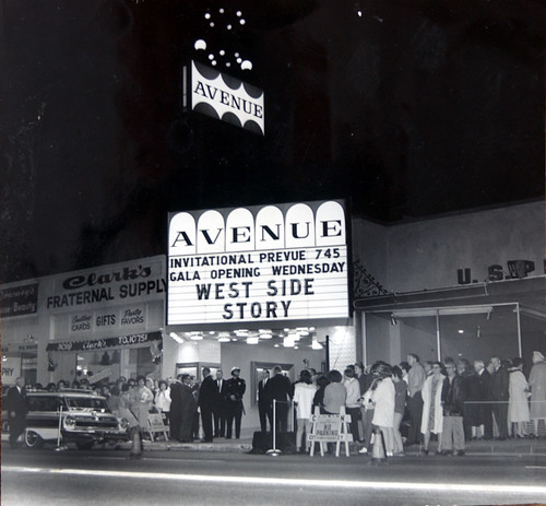 Avenue Theater Downey Ave. between Second and Third St.  1960's