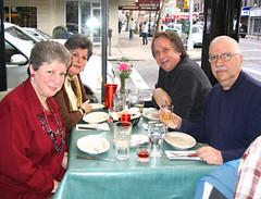 Astoria 4-some IMG0010 (Lanterna) Tags: thanksgiving family holiday dinner greek restaurant broadway astoria lanterna nycqueens