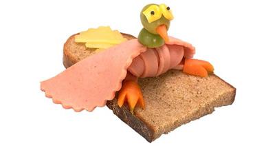 Cartoon Sandwich - 4