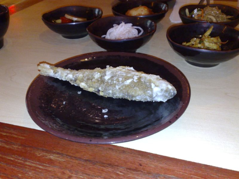 Deep Fried Fish Appetizer