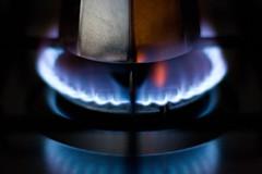 Aspettando il caff... (Alessandro Pinna) Tags: blue kitchen flame caff cofee cucina fiamma mcb2004