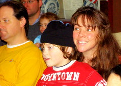 Christy & Kai at the performance (c) www.HilltownFamilies.org