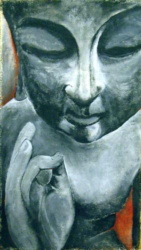 buddha watching over Fern