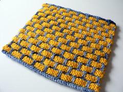 Ballband dishcloth (:Salihan) Tags: handmade knit craft dishcloth fo2007