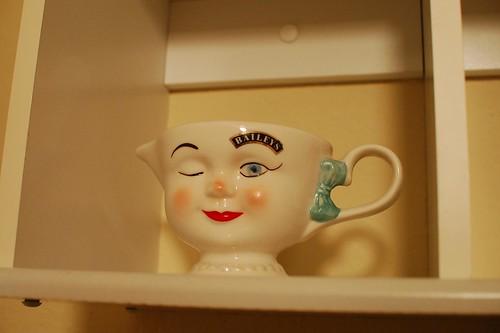 scary Bailey's mug