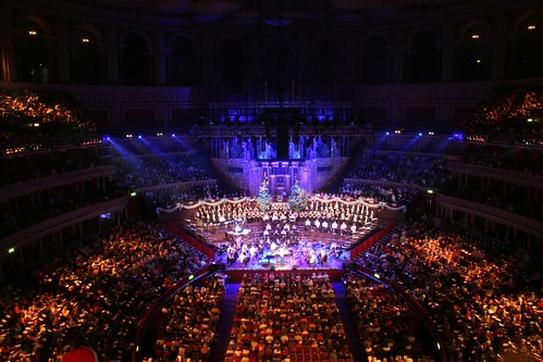 London - The Royal Albert Hall - Christmas Carols 5