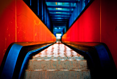 Abyss (manganite) Tags: world blue red color heritage texture monument topf25 lines architecture modern triangles digital buildings germany point geotagged lomo construction essen topf50 nikon colorful europe mine industrial mood pattern searchthebest tl geometry escalator perspective atmosphere unesco d200 coal nikkor dslr vanishing zollverein zeche 50mmf18 northrhinewestphalia katernberg utatafeature manganite nikonstunninggallery 25faves ipernity challengeyou challengeyouwinner abigfave date:year=2007 date:month=december geo:lat=51485831 geo:lon=7042336 december23200 date:day=23 format:ratio=32