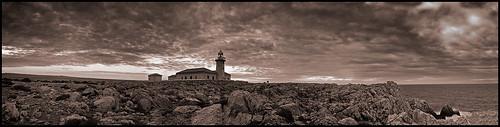 Punta Nati - Panorama - 2 - BN