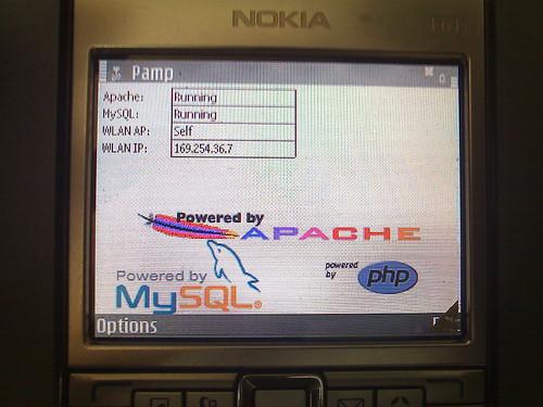 PAMP on Nokia E61i