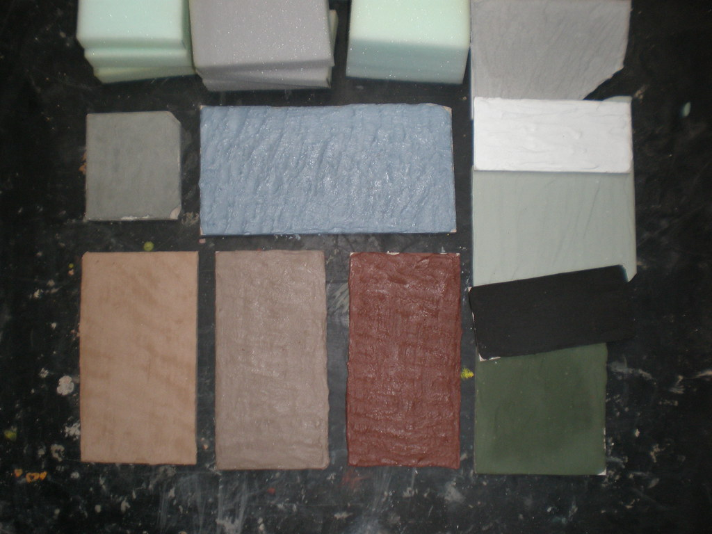 Grout samples