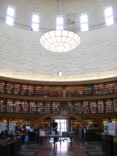 Stockholm Public Library - Interior