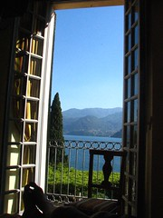 View from Our Room Villa Cipressi, Varenna