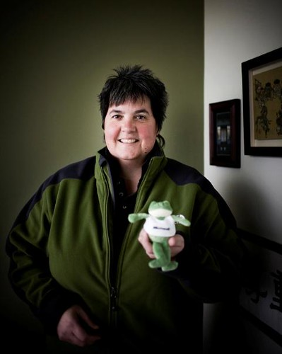 Lisa Brummel and  Microsoft FrogZ