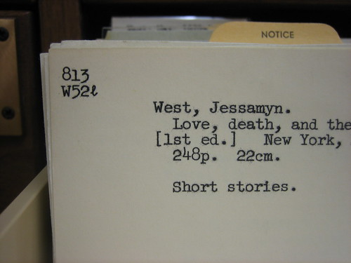 my namesake in card catalog