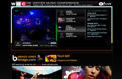 Winter Music Conference, Live!