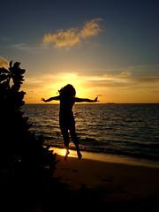 Sunset Levitation (Yammu) Tags: sunset shadow red sea sky orange beach water club island resort maldives spa sillhouette admins bandos alemdag mywinners colorphotoaward ysplix alemdagqualityonlyclub qualityonly flickrlovers