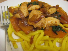 Chicken & Pumpkin Stirfry