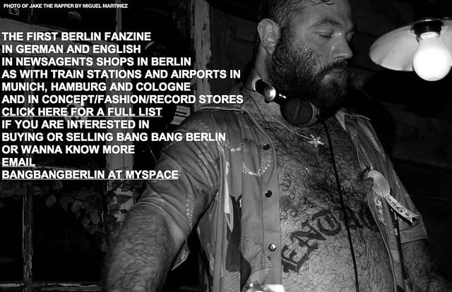 BANG BANG BERLIN by spanier