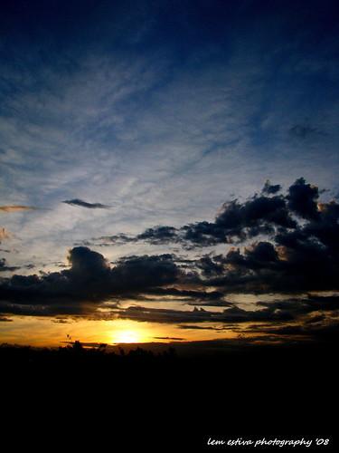 the sun at 530am