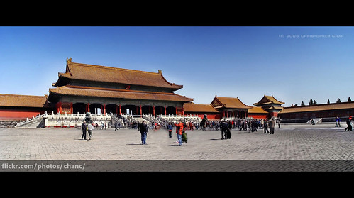 Forbidden City, Beijing por Christopher Chan.