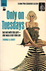 Only On Tuesdays (Biff Bang Pow) Tags: vintage hard retro paperback crime pulp bookcover boiled hardboiled gga