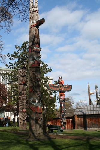 Totems, RC Museum, Victoria BC