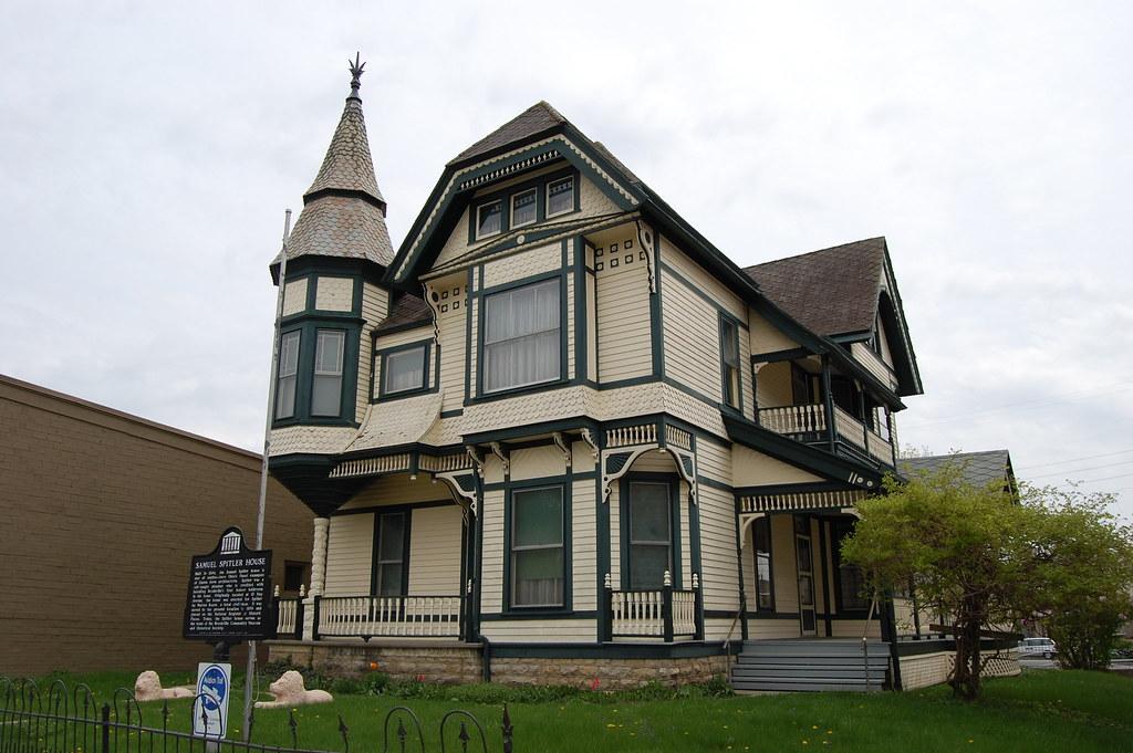 Barber House : ... Spitler (George F. Barber Design No. 60) House, Brookville, Ohio
